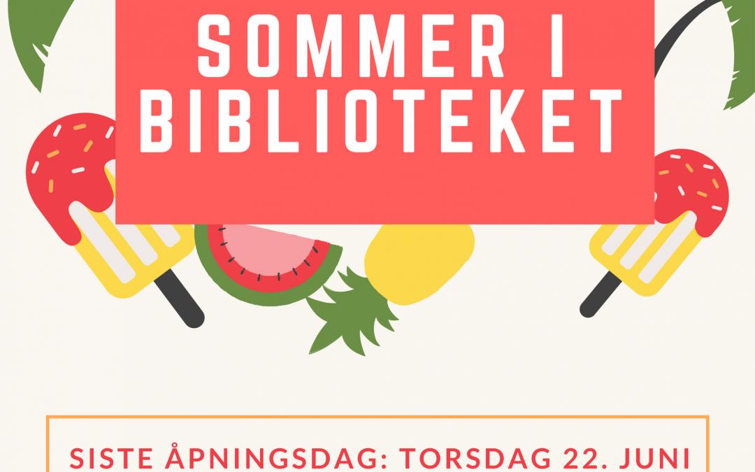 Sommer i biblioteket
