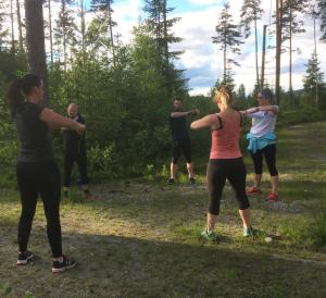 Utendørs styrketrening @ Stevningsmogen fritidspark