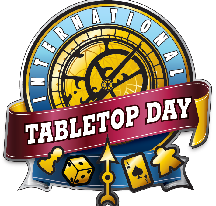 Tabletop Day, lørdag 30. april