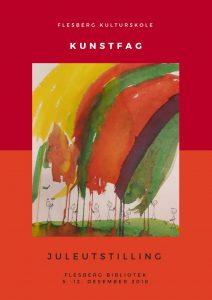 Utstilling ved Flesberg kulturskole-kunstfag