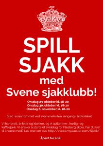 Spill sjakk med Svene sjakklubb